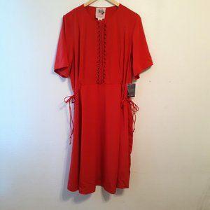 NEW ELOQUII SZ 18-20 PRETTY SPRING DRESS